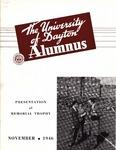 The University of Dayton Alumnus, November 1946 by University of Dayton Magazine