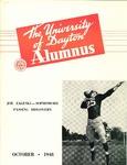 The University of Dayton Alumnus, October 1948 by University of Dayton Magazine