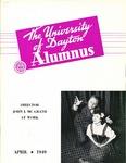 The University of Dayton Alumnus, April 1949 by University of Dayton Magazine