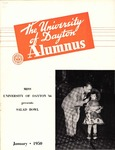 The University of Dayton Alumnus, January 1950 by University of Dayton Magazine