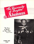 The University of Dayton Alumnus, February 1950 by University of Dayton Magazine