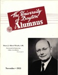 The University of Dayton Alumnus, November 1951 by University of Dayton Magazine