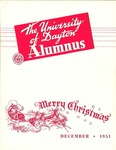 The University of Dayton Alumnus, December 1951 by University of Dayton Magazine