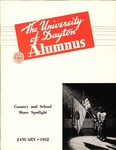 The University of Dayton Alumnus, January 1952 by University of Dayton Magazine