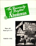 The University of Dayton Alumnus, March 1952 by University of Dayton Magazine