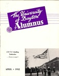 The University of Dayton Alumnus, April 1952 by University of Dayton Magazine