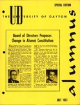 The University of Dayton Alumnus, July Special Edition 1957 by University of Dayton Magazine