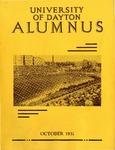 The University of Dayton Alumnus, October 1931 by University of Dayton Magazine