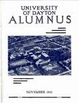 The University of Dayton Alumnus, November 1931 by University of Dayton Magazine