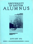 The University of Dayton Alumnus, January 1932