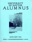The University of Dayton Alumnus, January 1932 by University of Dayton Magazine