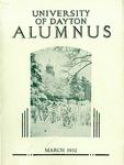 The University of Dayton Alumnus, March 1932 by University of Dayton Magazine