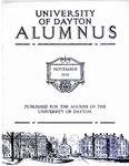 The University of Dayton Alumnus, November 1932 by University of Dayton Magazine