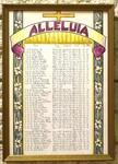 Alleluia Roster, Pelletier Hall, Image 1 by Glenn Plungis