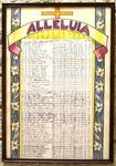 Alleluia Roster, Pelletier Hall, Image 2 by Glenn Plungis