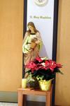 Statue: Mary Magdalene, Pelletier Hall Chapel by Glenn Plungis