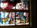 Good Shepherd Window: Detail of Sheep by Glenn Plungis