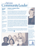 Community Leader, Vol. 06, No. 01 by University of Dayton. Fitz Center for Leadership in Community