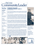 Community Leader, Vol. 07, No. 01 by University of Dayton. Fitz Center for Leadership in Community