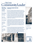 Community Leader, Vol. 07, No. 02 by University of Dayton. Fitz Center for Leadership in Community