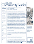 Community Leader, Vol. 08, No. 02 by University of Dayton. Fitz Center for Leadership in Community