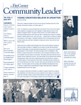 Community Leader, Vol. 09, No. 03 by University of Dayton. Fitz Center for Leadership in Community