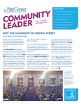 Community Leader, Vol. 11, No. 01 by University of Dayton. Fitz Center for Leadership in Community