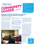 Community Leader, Vol. 12, No. 02 by University of Dayton. Fitz Center for Leadership in Community