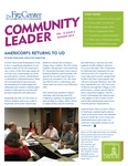 Community Leader, Vol. 12, No. 03 by University of Dayton. Fitz Center for Leadership in Community