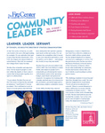 Community Leader, Vol. 13, No. 01 by University of Dayton. Fitz Center for Leadership in Community