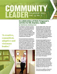 Community Leader, Vol. 15, No. 02 by University of Dayton. Fitz Center for Leadership in Community