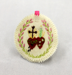 Hearts of Jesus and Mary Badge