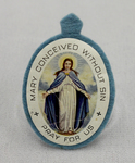Immaculate Conception Badge