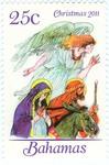 Mary and Joseph travelling to Bethlehem - Angel