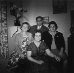Voisin children and Doris M. Poisson, 1961