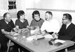 Albert Voisin with Pro Maria Committee, 1964