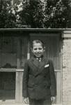 Albert Voisin in Sunday dress