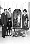 Albert Voisin with the Richard Belley family, 1964