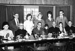 Farewell dinner for Albert Voisin, Lowell, Massachusetts, 1964