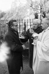Albert Voisin Receiving Holy Communion, 1966