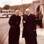 Father Maes with Father Debergh, July 13, 1966
