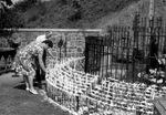 Pilgrims at the Beauraing Shrine, circa 1960