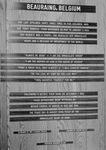 Inscription at St. Joseph Shrine, 1964