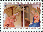 Annunciation by Fra Angelico (1400-1455)