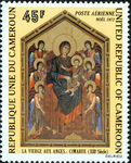 Madonna with Angels by Cimabue (1240-1302)