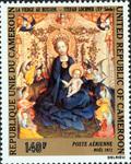 Madonna of the Rose Arbor by Stefan Lochner (1400-1451)