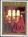Chancellor Rolin Madonna by Van Eyk (1390-1441)
