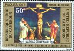 Crucifixion by Matthias Grunewald (1470/80-1528)