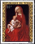 Virgin and Child with the Bible
