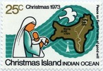 Mother and Child and Christmas Island Map